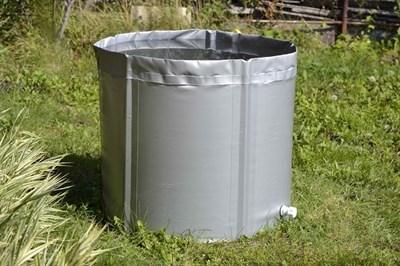 Складная ёмкость для воды Чудо-бочка для воды из ПВХ 2000л (с верхним каркасом) - фото 5228