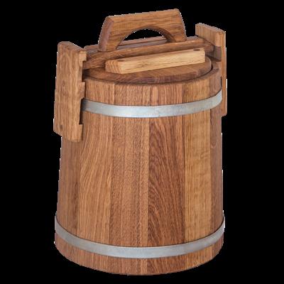 Кадка бочка дубовая 20 литров - фото 5825