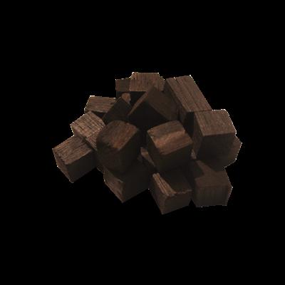 Дубовые кубики 350г (сильный обжиг) - фото 6129