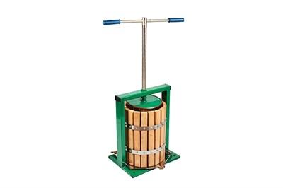 Пресс для отжима сока винтовой «Вилен» 20 литров (дуб) - фото 6253