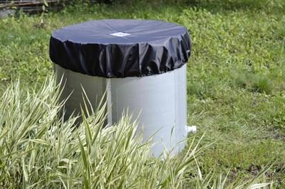 Складная ёмкость для воды Чудо-бочка для воды из ПВХ 300л (с верх каркасом с крышкой) - фото 6978