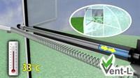 Автоматический проветриватель теплиц Vent-L №003 (до 30 кг)