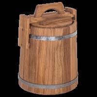 Кадка бочка дубовая 3 литра
