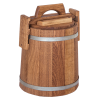 Кадка бочка дубовая 20 литров