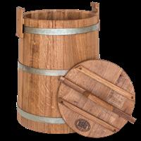 Кадка бочка дубовая 30 литров