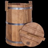 Кадка бочка дубовая 50 литров