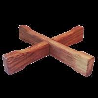 Подставка дубовая для кадки 10л