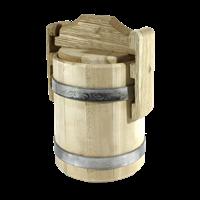 Кадка липовая для меда 2л