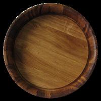 Поднос дубовый Ø 350 мм