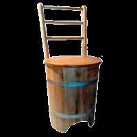 Стул - кадка дубовый