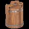 Кадка бочка дубовая 3 литра - фото 5786