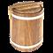 Кадка липовая для меда 0,5л - фото 6288